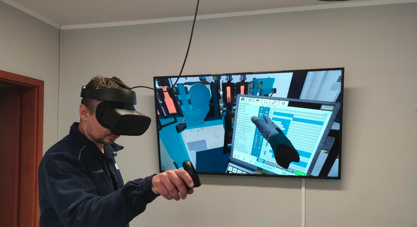 Ardagh install their second virtual reality training tool from VRMT